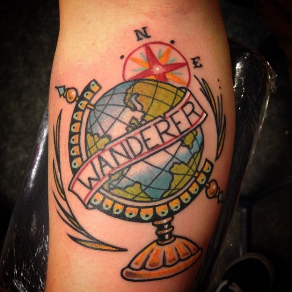 40 Travel Inspired Tattoos From Travelers, Bloggers