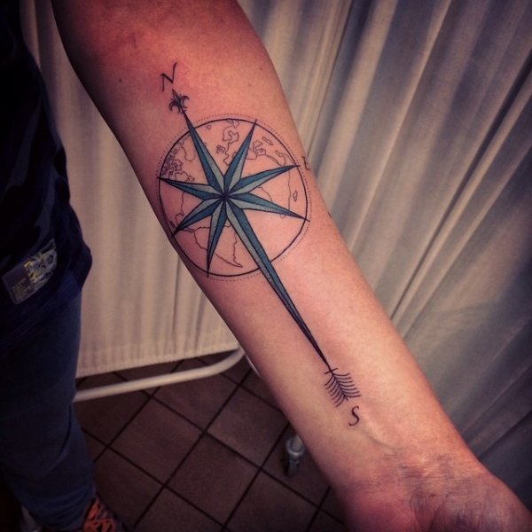40 Travel Inspired Tattoos From Travelers Bloggers Myself