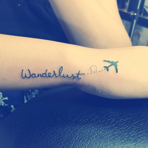 40 travel inspired tattoos from travelers bloggers myself sahibamehta jpg voltagebd Image collections