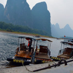 """Bamboo"" Boating Down the Li River"