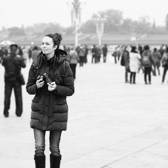 1 year ago today we embarked upon our non-stop, 6 month journey. First stop #Beijing. #tbt #travelthursday  #cameraready