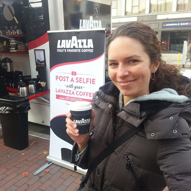 #yummy yummy #lavazza #coffebar on the streets of #boston today. Free coffee is good, yummy free coffee is better!  #lavazzapassion #lavazzacoffee @lavazzausa