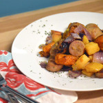 Roasted Sausage + Potatoes Recipe: Simple for Travel!