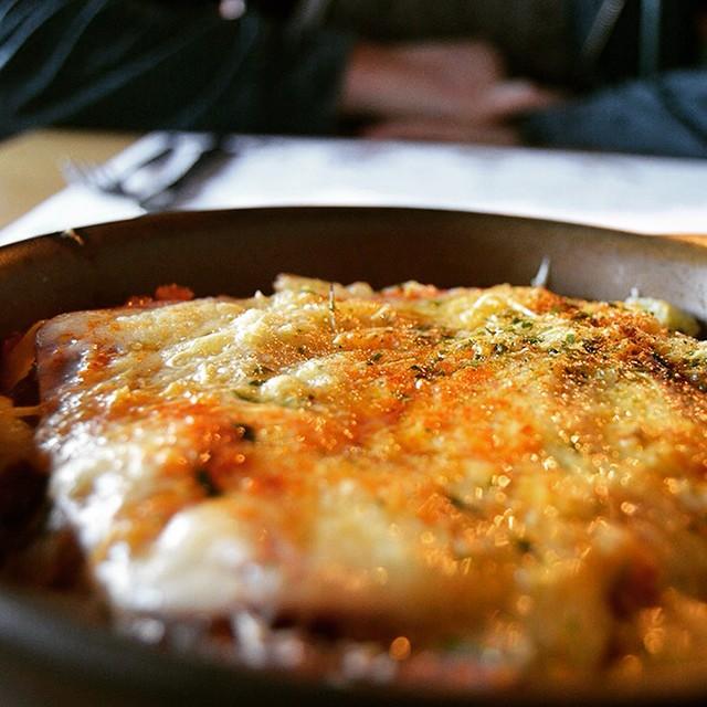 Mmm... Roasted, cheesy, potato goodness. #FoodieFriday #rosti #swissfood