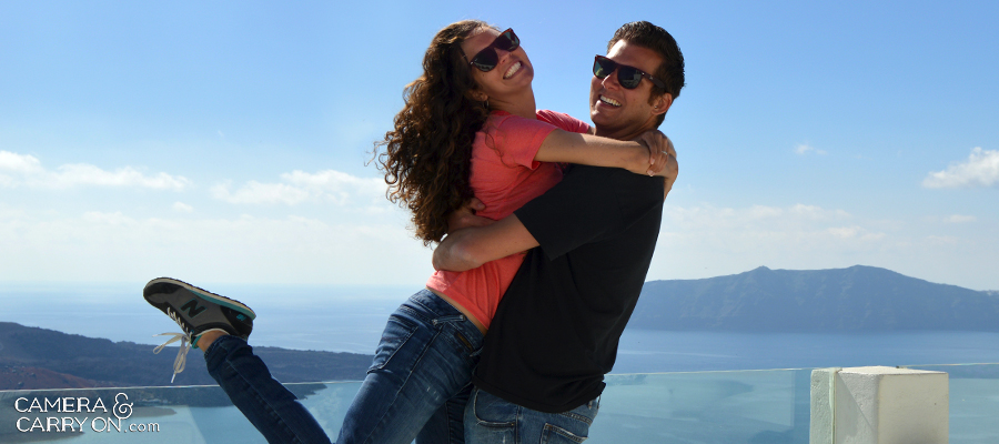 Who We Are - Shannon + Michael Healey - on a mission to make TRAVEL a part of EVERYDAY life #santorini #travel #happy   CameraAndCarryOn.com