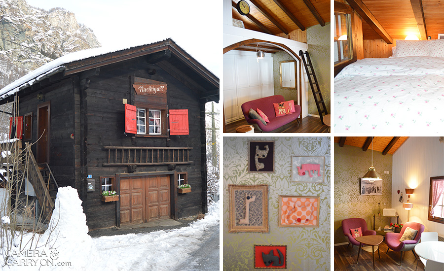Petit Chalet in St. Niklaus, Switzerland just near Zermatt -- 6 Unique Places I Spent the Night | CameraAndCarryOn.com