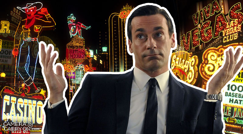 Where did Don Draper go? We Take Mad Men On a Vacation! Exploring the vacation destinations of characters AMC's hit tv show Mad Men. #travel #madmen #popculture – Don Draper Las Vegas | CameraAndCarryOn.com