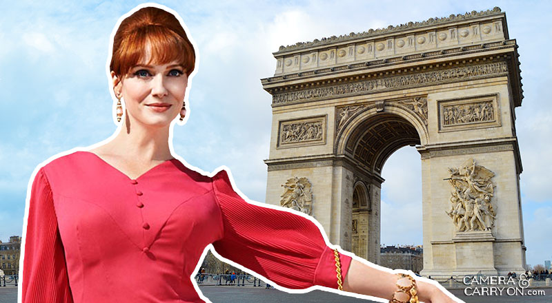 Where did Joan go? We Take Mad Men On a Vacation! Exploring the vacation destinations of characters AMC's hit tv show Mad Men. #travel #madmen #popculture – Joan in Paris | CameraAndCarryOn.com