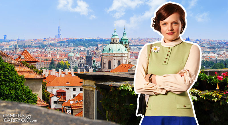 Where did Peggy go? We Take Mad Men On a Vacation! Exploring the vacation destinations of characters AMC's hit tv show Mad Men. #travel #madmen #popculture – Peggy in Prague | CameraAndCarryOn.com