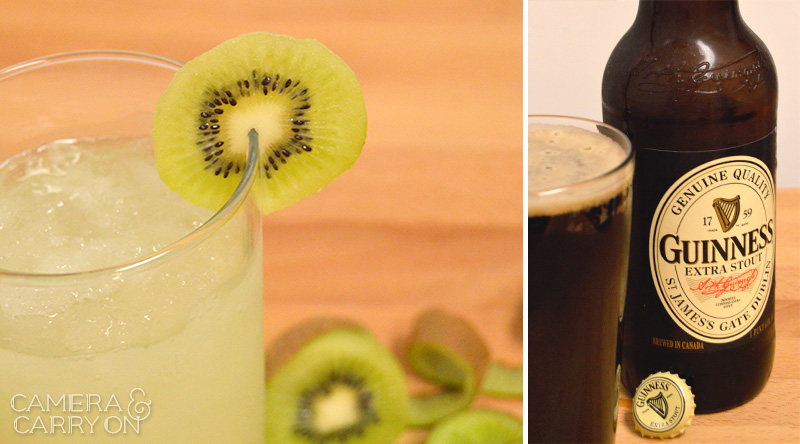 Raise Your Glass With These St. Paddy's Drink Recipes! His and hers adult beverages for the shamrock celebration. Sláinte! #cocktail #guinness #recipe  | CameraAndCarryOn.com