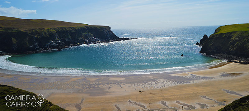 Beachy in Donegal Co., Ireland -- 24 Photos That Will Inspire You to Travel the World NOW   CameraAndCarryOn.com
