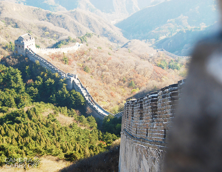 24 Photos That Will Inspire You to Travel the World NOW — The Great Wall of China at Badaling #photograph #travel #wanderlust | CameraAndCarryOn.com