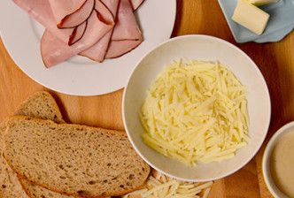 Croque Monsieur Recipe - a sexy time making, simple dish that's classically delicious and will have you thinking you're in the heart Paris! | CameraAndCarryOn.com