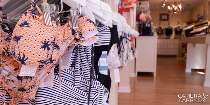 My Unicorn: In Search of the Perfect Swimsuit at Forty Winks in Cambridge, MA #bikini #swimsuit #caribbean #travel #vacation | CameraAndCarryOn.com