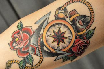 40 Travel Inspired Tattoos from Travelers, Bloggers, & Myself   CameraAndCarryOn.com