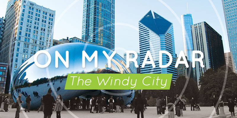 On My Radar: The Windy City — All things travel for home, work and away, inspired by #Chicago. #style #travel #decor #global #food #getaway #wanderlust   CameraAndCarryOn.com