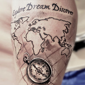 40 Travel Inspired Tattoos from Travelers, Bloggers, & Myself | CameraAndCarryOn.com