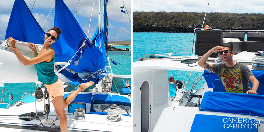 Anchors Aweigh: Exploring the Galapagos via Nemo I Catamaran #boating #galapagos #islands #catamaran #tour #southamerica | CameraAndCarryOn.com