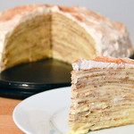 The Decadent Love Child of France & Italy: Disaronno Crêpe Cake