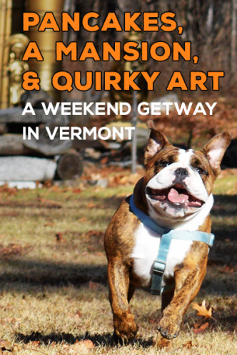 A Weekend Getaway in Manchester, VT - Pancakes, A Mansion, and Quirty Art at the Wilburton Inn | CameraAndCarryOn.com