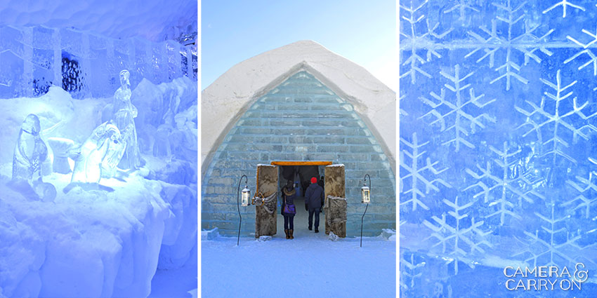Quebec City's Hotel de Glace -- incredible ice hotel in Canada | CameraAndCarryOn.com